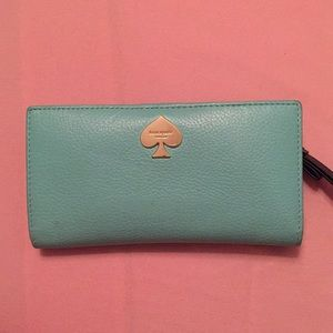 Kate Spade Tiffany Blue wallet